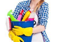 cleaning / by Paula Va