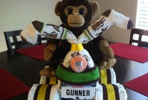 Diaper Cakes by Me / by Christina Danes