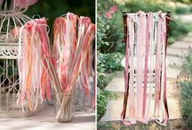 DECORATING WITH RIBBON / Beautiful ways to decorate with ribbon found via Rebekah Dempsey at www.ablissfulnest.com.  / by Rebekah Dempsey | A Blissful Nest