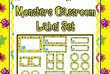 Monster class / by Sharla Marquez