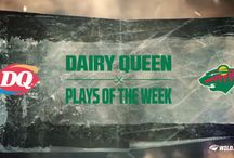 Dairy Queen Plays of the Week / Top #mnwild plays of the week presented by Dairy Queen. / by Minnesota Wild