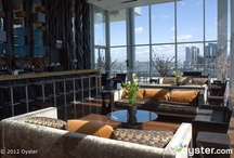 Awesome Bars: Pull Up A Seat / From the futuristic, to the trendy, to the cozy, we love checking out hotel bars and city nightlife when we travel.  / by Oyster