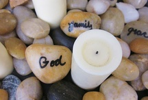 Candle Centerpiece / by Lori Wells