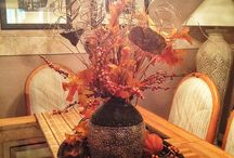 fall decorations / by Tammy Ballard