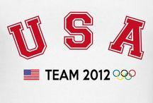 U.S.A. OLYMPICS / by Kathy Ruiz
