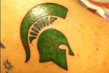 Spartan Ink / Michigan State Spartans Tats / by Michigan State Spartans