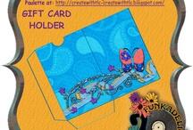 GIFT CARD HOLDER printables / by RhondaSue Wickerham