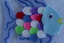 Book activities - The Rainbow Fish / by Hera Hermes