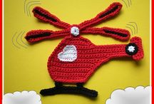 small crochet applications / by lidia silva