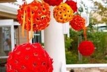 Orange wedding / by Karen Cruse