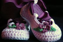 baby booties etc... / by Cheryl Carroll
