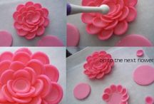 Cakes and decorating tips and ideas / by Carol Lindquist