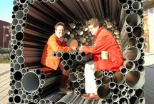 PVC  / Ooo the things you can do with PVC pipe. / by Priscilla Smith
