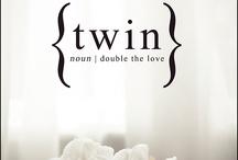 .:twins:. / by M a m o i z e l l e .
