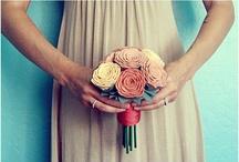 Wedding bouquet, flowers / by teresa perez