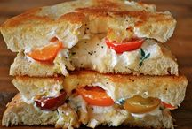 Grilled Cheese Recipes / Grill Cheese / by Let's eat with Alicia