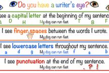 Kindergarten Anchor Charts / Anchor Charts that can be used in a Kindergarten classroom. / by Abbie @ Lovin' Our Chaos