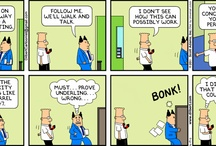 Dilbert Just Knows! :D / by Darrin Caldwell