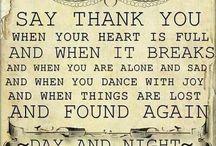 Gratitude ..... / by Debbie Williams