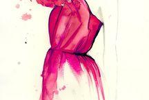 Fashion illustration / by Ula Lala