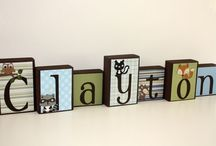 Fun decor for kids room / by Kimberly Crain