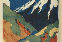 Traditional Japanese Wood Block Prints / by jose de la vega