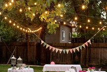 Backyard party / by Nicole Sorick