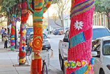 Yarn bombing / by Catherine Rowe