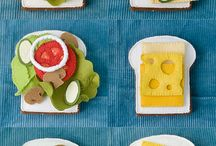 Felt Food and Toys / Fun projects for toy kitchens! / by Tara Tarbet