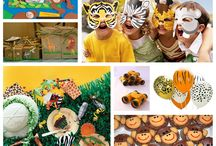 Kids parties - Safari Jungle Animal party / by Jolene Stocks