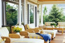 patio furniture / by Caroline Swetenburg