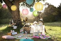 Outdoor Party Ideas / Nifty ideas for those having a picnic-style wedding or outdoor celebration of any kind (birthday, anniversary, graduation). / by Sasha Martin | Global Table Adventure