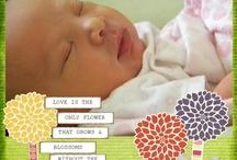 baby scrapbook / by Heather Beard