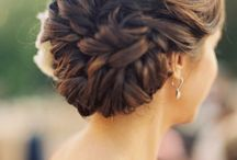weddings . hairstyles / by Before the I Do's