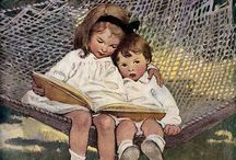 Children Reading / by Diane Stauffer