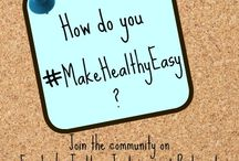 #MakeHealthyEasy / Here's the board to help #MakeHealthyEasy. Wanna get in on the fun? Let's all pin our ideas to #MakeHealthyEasy! It might be a #recipe, #inspiration, #workout, #tip, blog post, article, video, book, or anything really. It just needs to be something that helps make healthy living a little bit easier and manageable.  Thanks for joining in! Follow on Instagram, Twitter, Facebook by using the hashtag #MakeHealthyEasy or my my blog, www.freshfoodperspectives.com.  Message me to be added as a pinner. / by Jenna Braddock RD