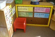 escuela: set up / by Ashley McClain