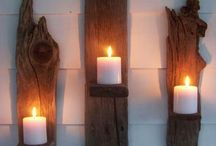 """DIY """"Driftwood"""" / by Egni Theoneandonly"""