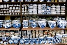 Blue pottery / by Shivi Bhatnagar