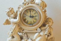 shabby chic clocks / by Pam Taylor