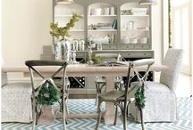 Dining room ideas / by Sarah Howell
