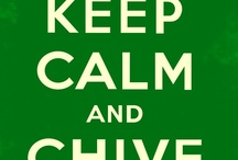 KCCO✌️ / Keep Calm and Chive On / by Betsy O'Flanagan