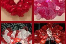 Valentines wreath / by Dara Williams