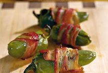YUM - Apps/Sides / Recipes for appetizers and sides / by Ginger Merritt