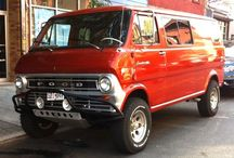 Bronco/van  / Ford all the way  / by Jerry Miller