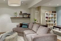 Garage re-do into a TV /guest & play room / by Anush Kirakosian