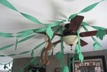 jungle theme for my baby's first birthday / by Maggie Mesa