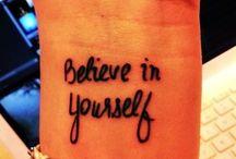 Tattoos / by Tammy Whitt-Sylfest