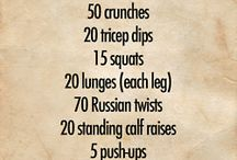 Exercise Ideas / by Created by MrHughes