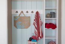 Sara's Mudroom-Laundry Room / by Madeline Aeschbury